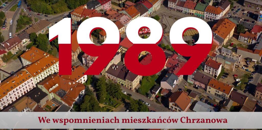 Kadr tytułowy z filmu 1989 rok we wspomnieniach mieszkańców