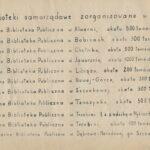 Biblioteka samorządowa w 1949 roku, tekst.