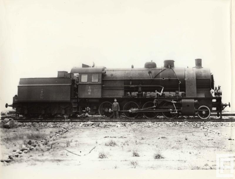 Parowóz z lat 20. XX wieku.